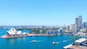 view Sydney Harbour Austalia