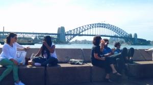 city life Sydney Harbour Bridge