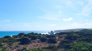 view from Great Ocean walk
