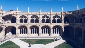 Klooster Mosteiro dos Jerónimos Lissabon