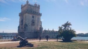 Belém park westelijk Lissabon