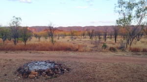 Campsite Purnululu National Park Western Australia