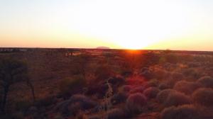 Sunrise Uluru Outback Australia
